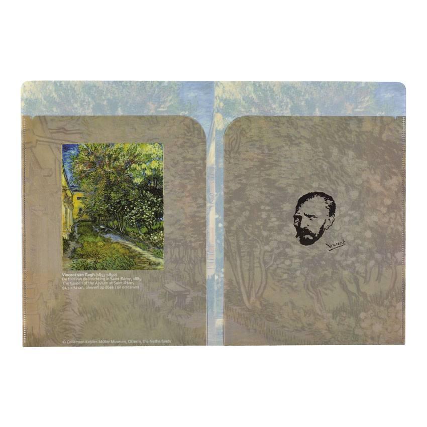 Insteekhoezen Van Gogh De tuin van de inrichting