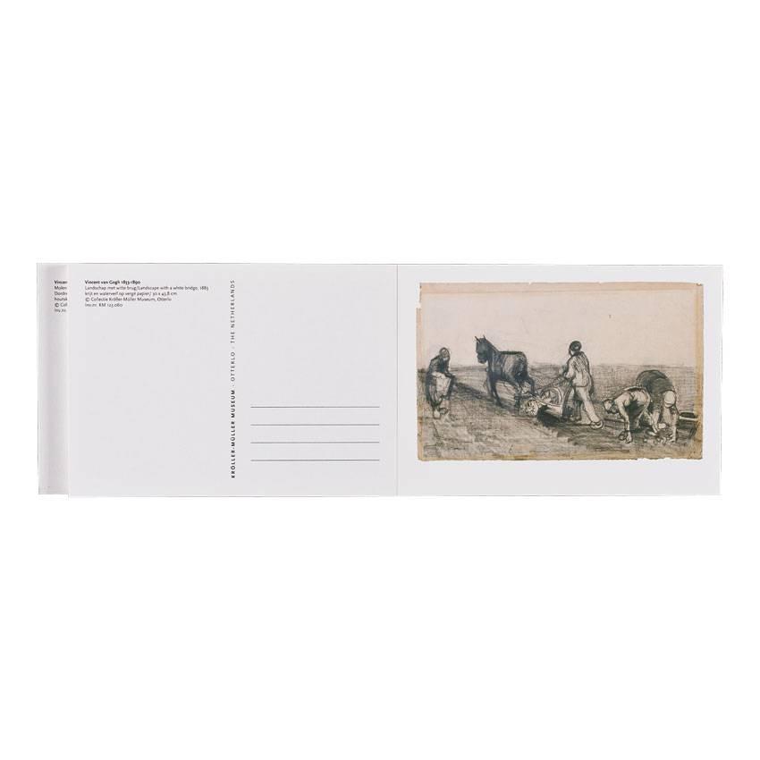 Kaartenset Van Gogh 32 werken op papier