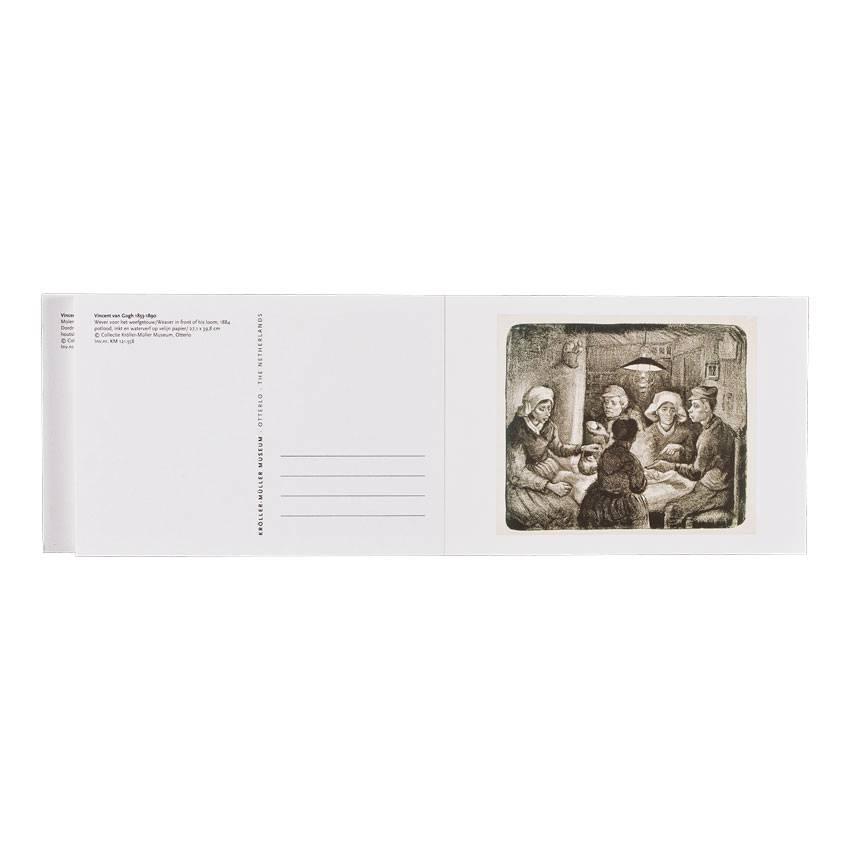 Postcard Book Van Gogh 32 works on paper