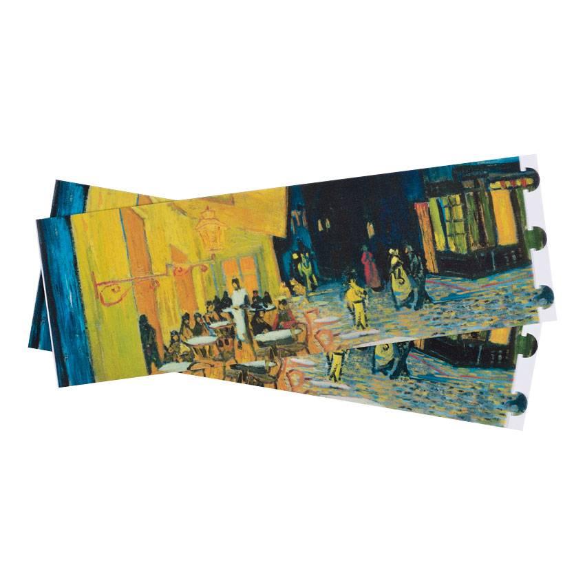Windlichtjes set van drie Van Gogh Caféterras bij nacht
