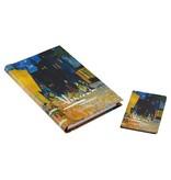 Adresboeken Van Gogh Caféterras bij nacht