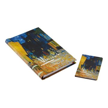 Address books Van Gogh Terrace of a café at night