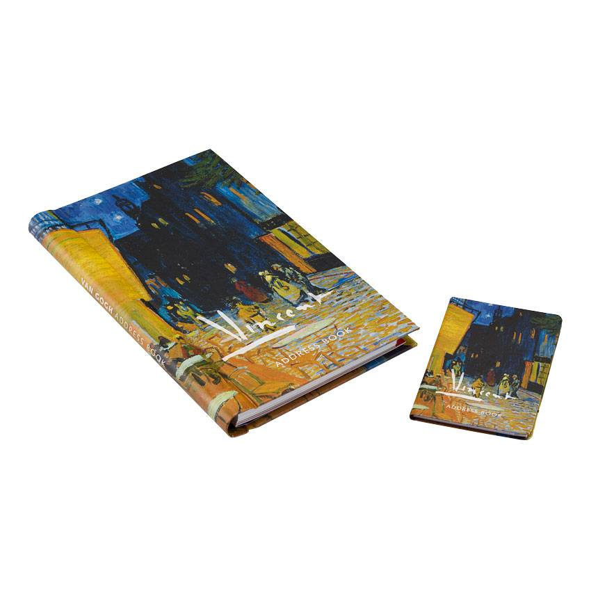 Adresboeken 'Caféterras bij nacht' - Vincent van Gogh