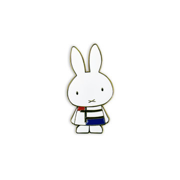 Brooch Miffy + Michael Barnaart