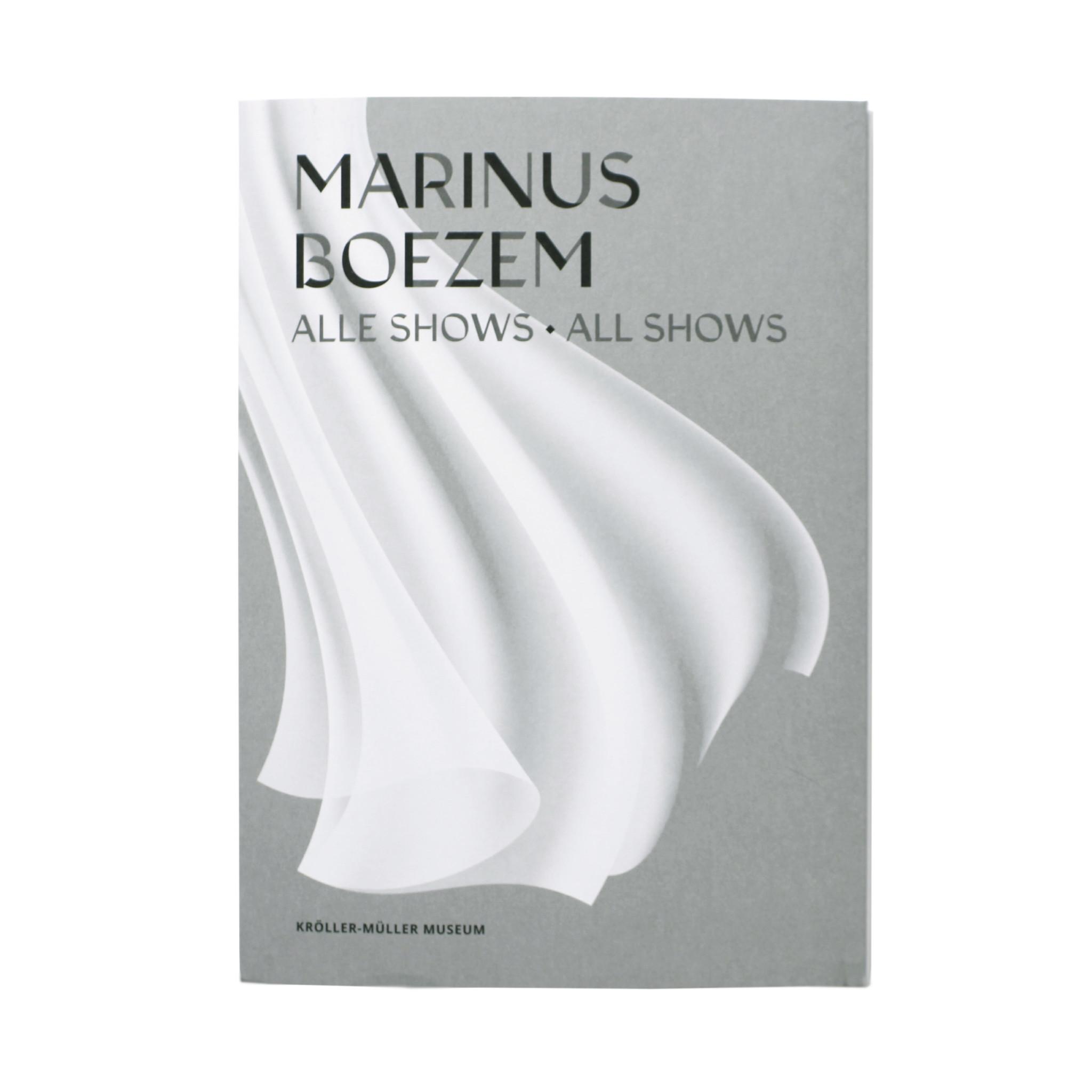 Marinus Boezem. All shows