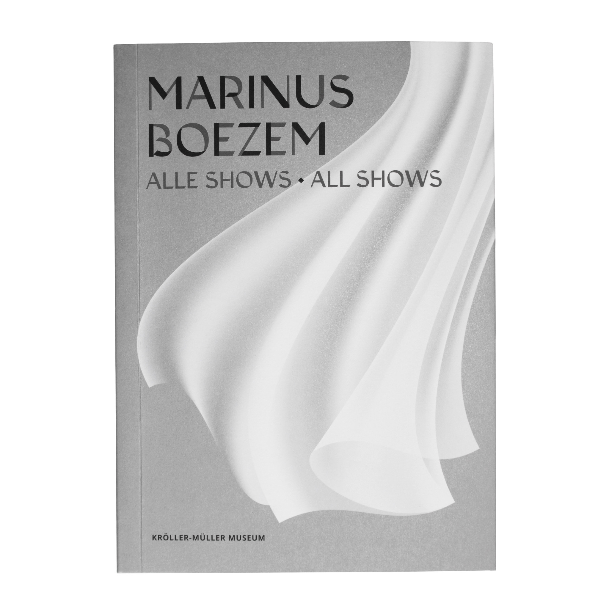 Marinus Boezem. All shows - limited edition