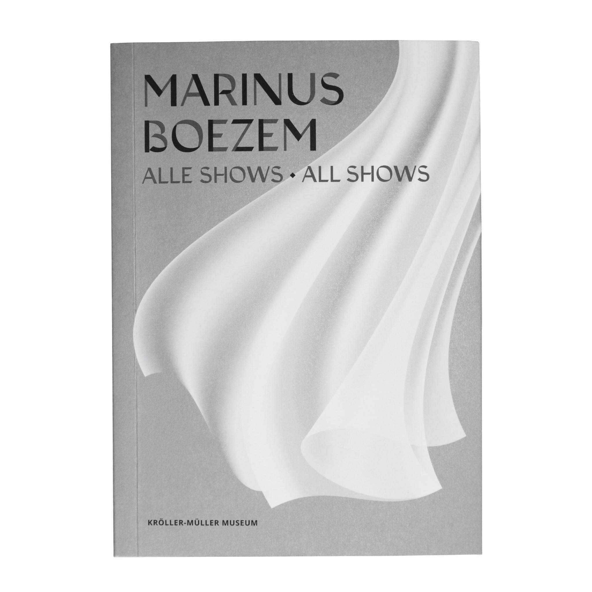 Marinus Boezem. Alle shows - limited edition