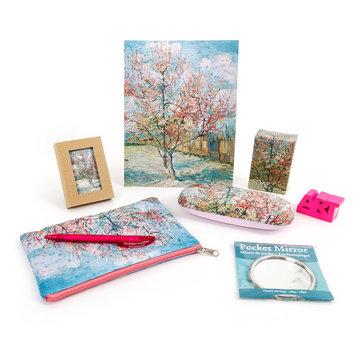 Cadeau set Van Gogh Roze perzikbomen