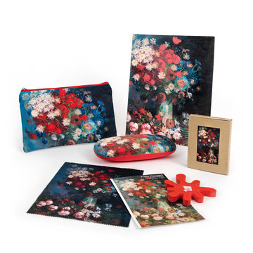 Gift set Van Gogh Still life with meadow flowers and roses