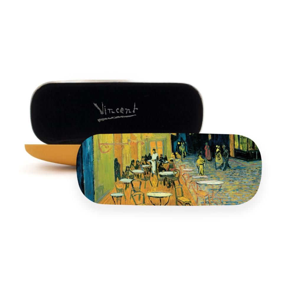 Brillenkoker Van Gogh Caféterras bij nacht