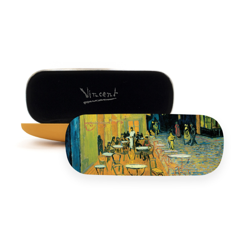 Glasses case Van Gogh Terrace of a café at night