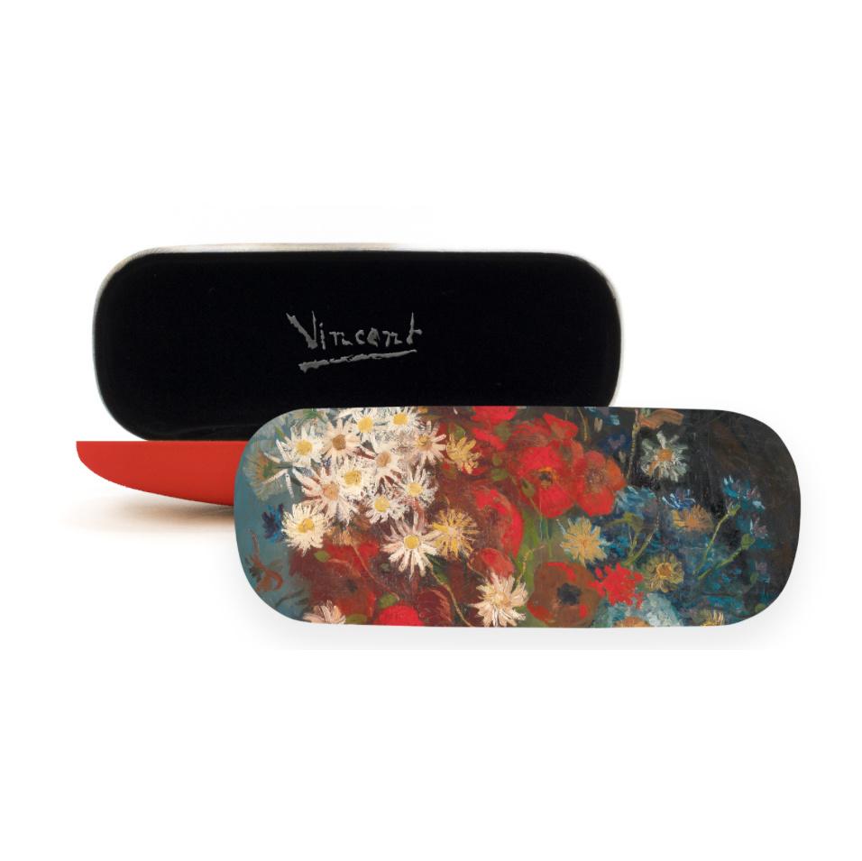 Brillenkoker Van Gogh Stilleven met akkerbloemen en rozen
