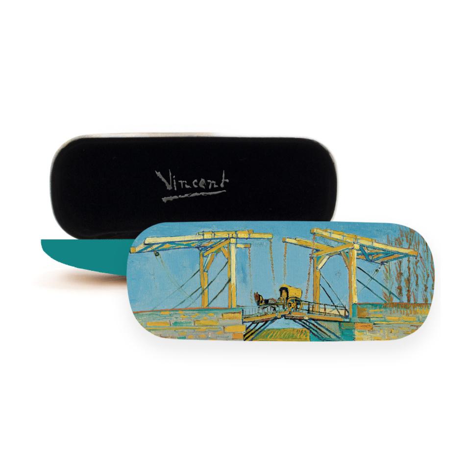 Glasses case Van Gogh Bridge at Arles