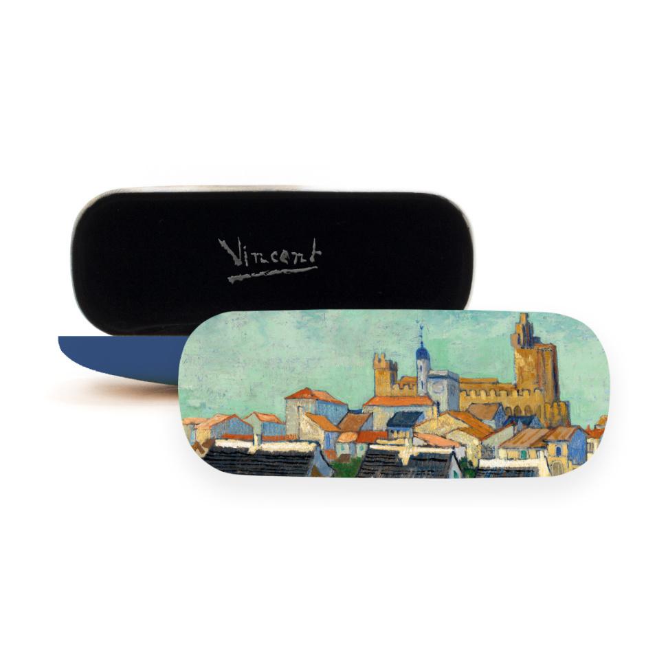 Brillenkoker Van Gogh Gezicht op Saintes-Maries-de-la-Mer