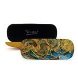Brillenkoker Van Gogh Vier uitgebloeide zonnebloemen