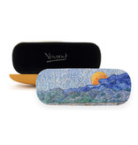 Glasses case Van Gogh Landscape with wheat sheaves and rising moon