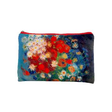 Etui Van Gogh Stilleven met akkerbloemen en rozen