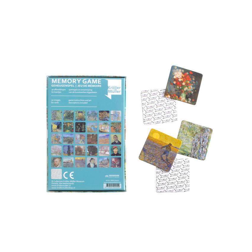 Memory Game Van Gogh Masterpieces