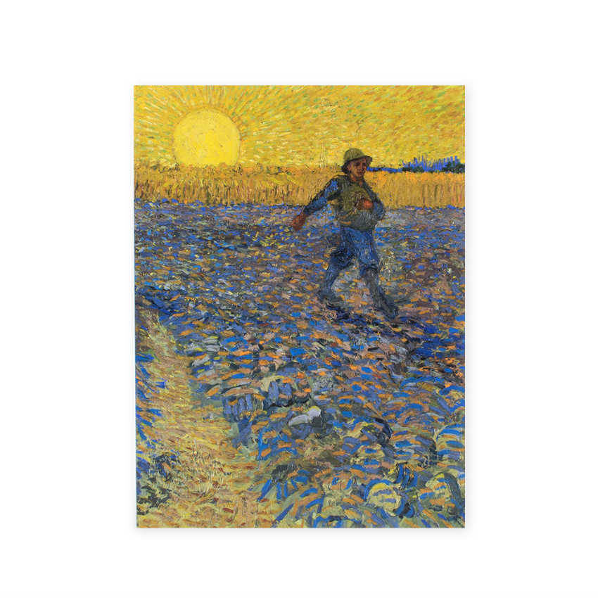 Artist journal Van Gogh The sower