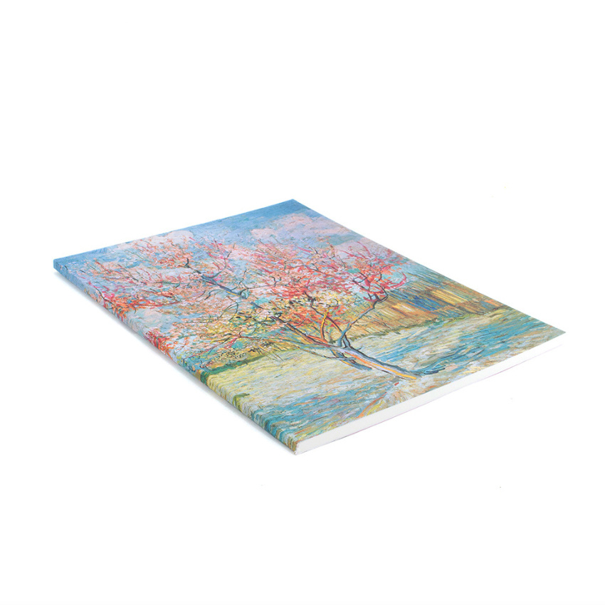 Artist journal Van Gogh Pink peach trees