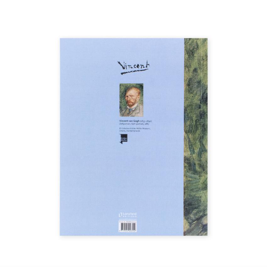 Artist journal Van Gogh Self-portrait