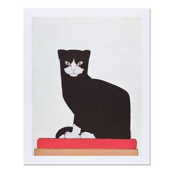 Reproduction Bart van der Leck The cat