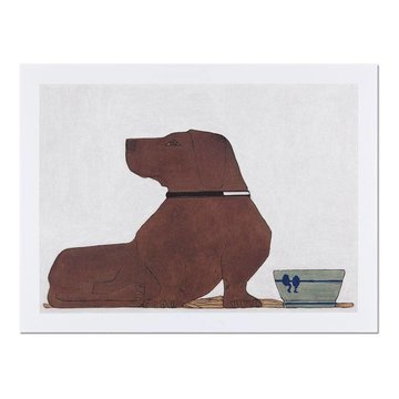 Reproduction Bart van der Leck Dachshund