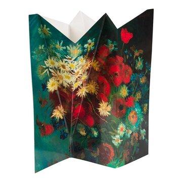 Flower vase Van Gogh Meadow flowers and roses