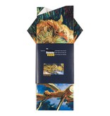 Flower vase Van Gogh Four sunflowers gone to seed
