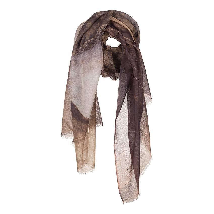 Sjaal Barbara Hepworth Liggende vorm