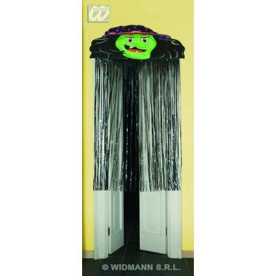 Halloweenaccessoires halloween deurversiering 165cm