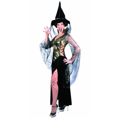 Super sexy magische heksen jurk voor Halloween