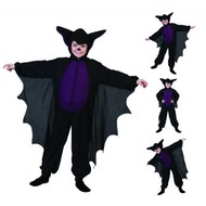 Halloweenkostuum: Kinder vleermuis pakjes