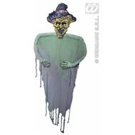 Halloweenartikelen heks 190cm