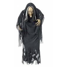 Halloweenkleding: Hangdeco gebochelde heks