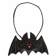 Halloweenaccessoires vleermuis handtas