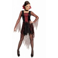 Halloweenkostuum vampier spinneweb