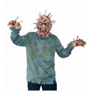 Halloweenkostuums: Man met spijkers in hoofd