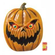 Halloweenaccessoires pompoen met lichtgevende ogen