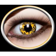 Party-accessoires: Contactlens Leopard