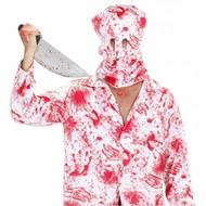 Halloweenaccessoires bloederig horror masker