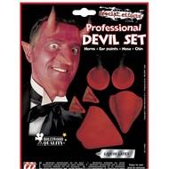 Halloweenaccessoires: Duivel opmaakset