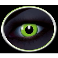 Party-accessoires: Contactlens Flash Groen