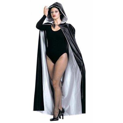 Luxe halloween zwart capes voor griezels