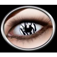 Party-accessoires: Contactlens Zebra