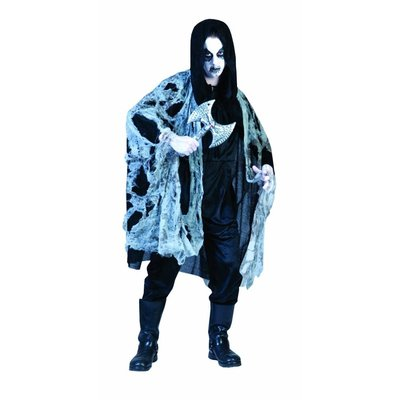 Geesten kostuum met spinnenweb kleding