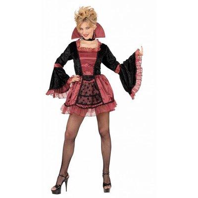 Gotische Vampier-lady jurkjes