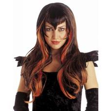 Halloweenaccessoires: Pruik Samantha
