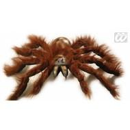 Halloweenaccessoires jumbo spinnen 60cm buigbaar