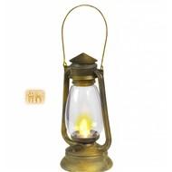 Halloweenartikelen lantaarn met flikkerend licht